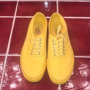 Vans Shoes | All Yellow Vans | Poshmark